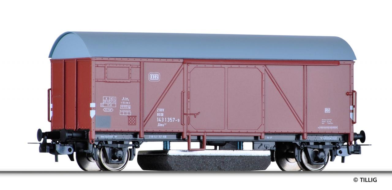 SH Tillig 76871 Gedeckter Güterwagen als Schienenreinigungswagen der DB Sp HO