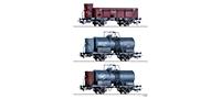 70047   Güterwagenset BDZ, JDZ und CSD