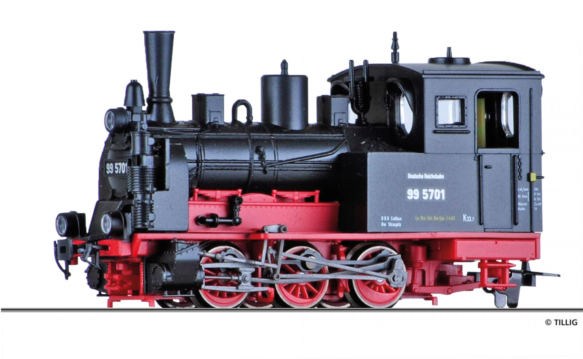 02912 | Steam locomotive DR