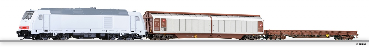 01424 | Freight car set for beginners