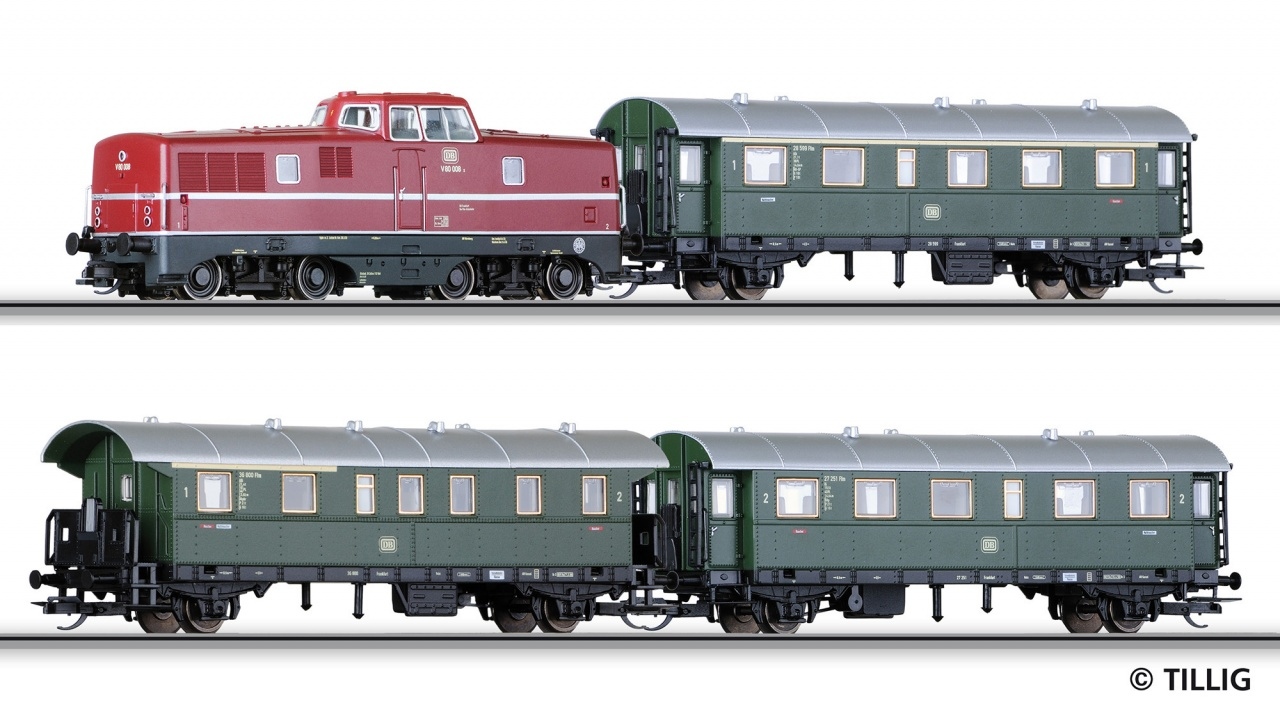 01426 | Passenger coach set for beginners DB  -sold out-