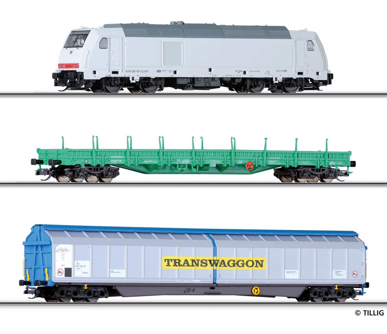 01428 | Freight car set for beginners DB AG  -sold out-
