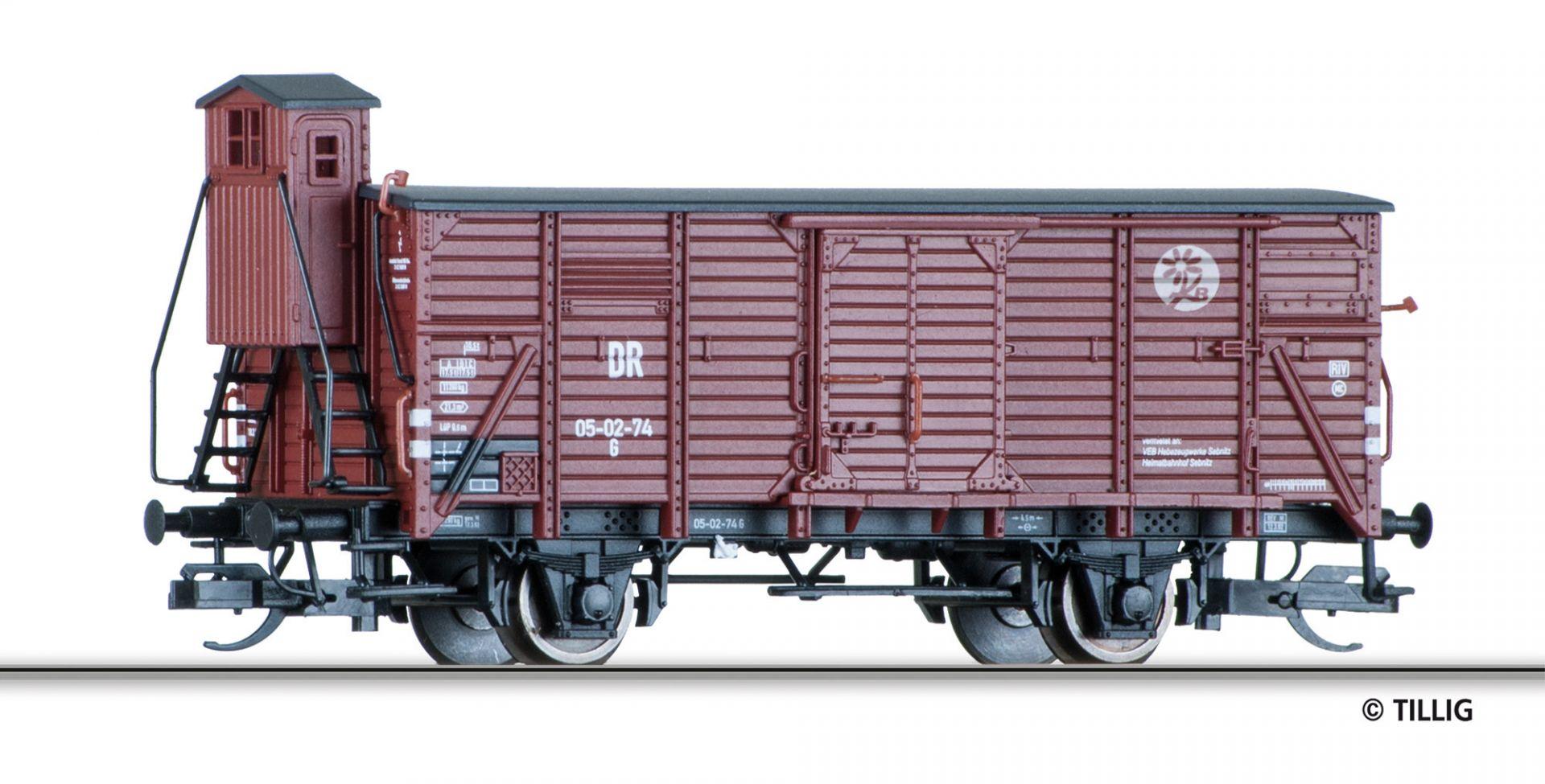 501861 | Gedeckter Güterwagen DR