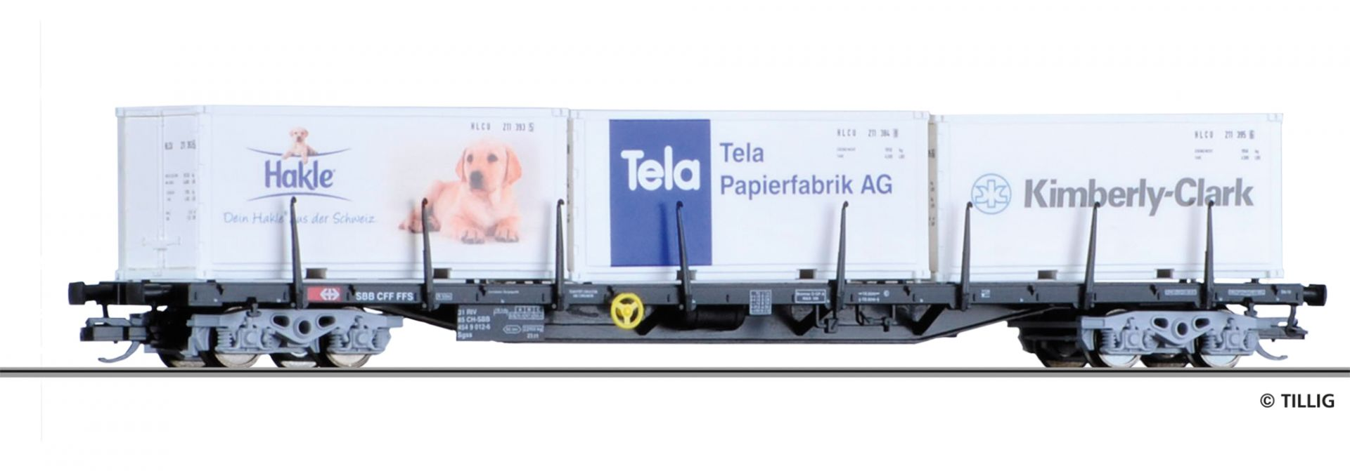 18120 | Containertragwagen SBB