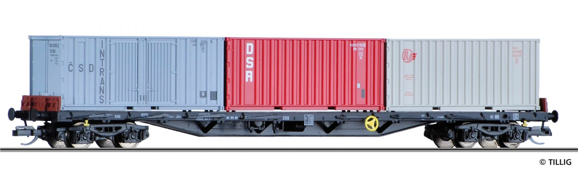 18127 | Containertragwagen DR