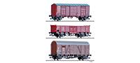 01001 | Güterwagenset FS, ÖBB, DB