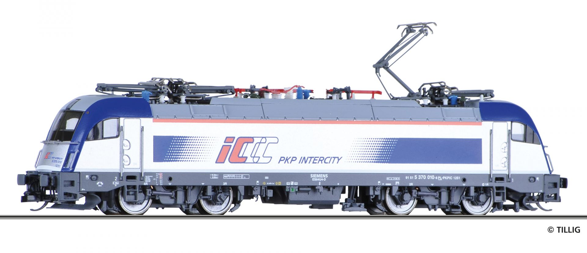 04970 | Elektrolokomotive der PKP Intercity