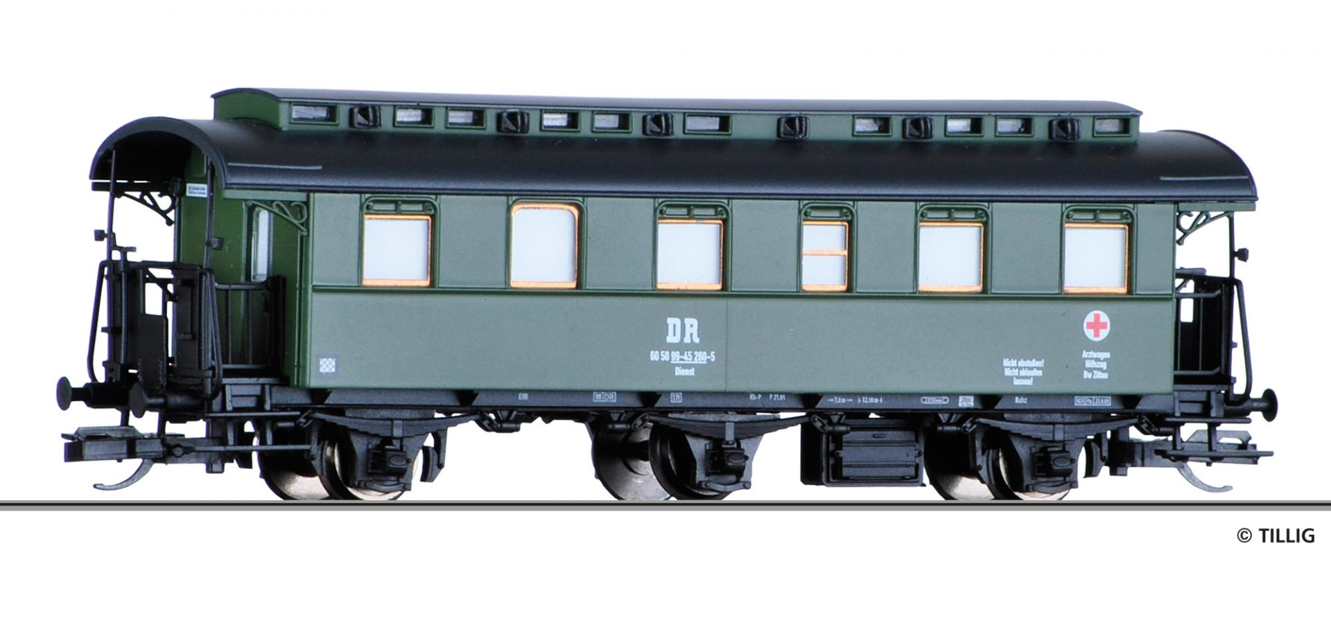 501773 | Passenger coach -sold out-