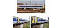 01809 | Reisezugwagenset Mitteldeutsche Regiobahn -werksseitig ausverkauft-