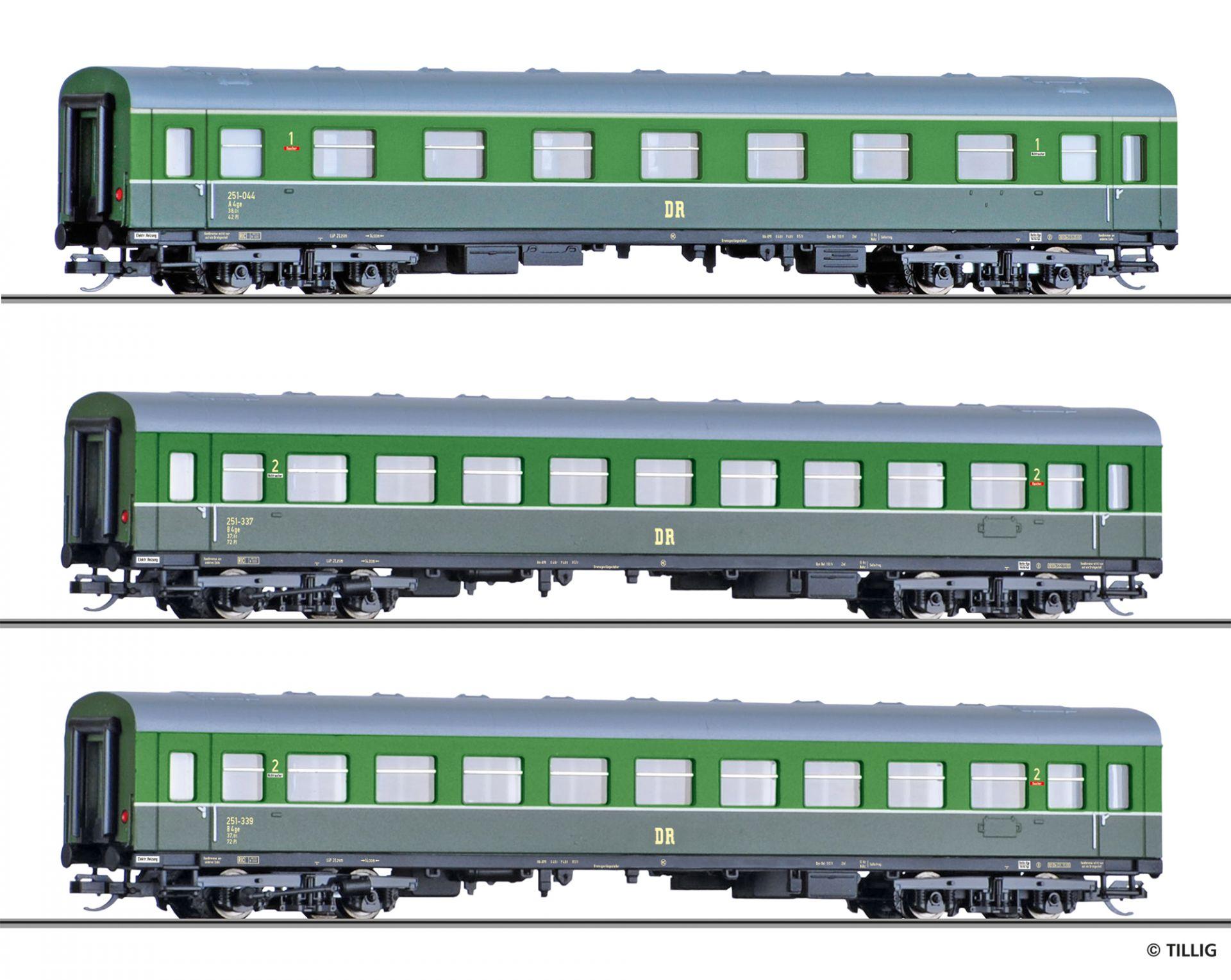 501782 | Personenwagenset DR