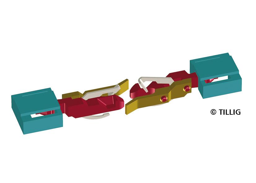 Btl. 10 Stck. TT Tillig 08890 Speichenradsatz,